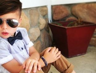 4-летний Райкер Виксом стал самым модным малышом в Instagram