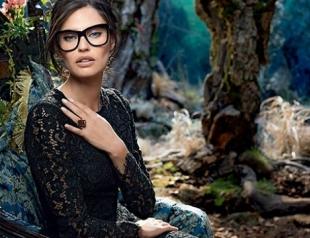 Бьянка Балти в промокампании очков Dolce & Gabbana осень 2014