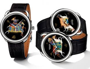 Часы Cheval d'Orient от Hermès