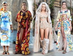 Коллекция Dolce&Gabbana Alta Moda FW 2014/2015