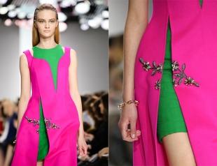 Ассиметричное платье Christian Dior