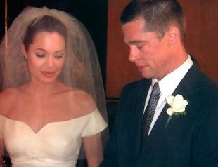Джоли и Питт продали свадебное фото за $5 млн