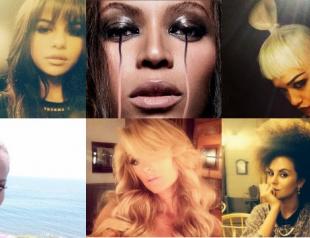 Вдохновение из Instagram: прически и макияж знаменитостей