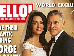 Появились первые свадебные фото Джорджа Клуни и Амаль Аламуддин