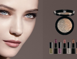 Вышла осенняя коллекция макияжа Giorgio Armani Fade to Grey 2014