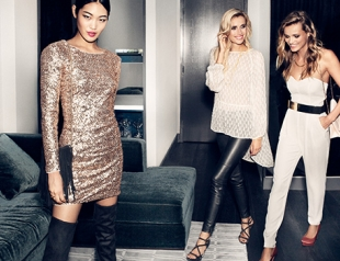 Какие платья к Новому году искать в H&M