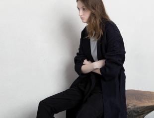 Как в халате: носим пальто на запах