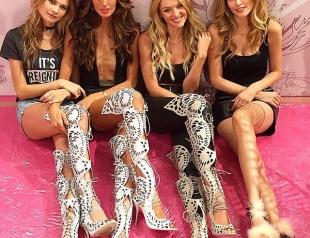 Как модели Victoria's Secret готовятся к шоу