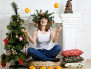 Как украсить елку на 2015 Новый год Козы