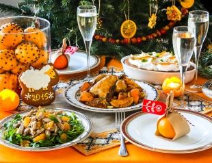 Как сделать новогодний стол и вкусным, и полезным