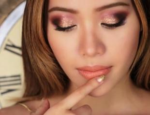 Какой макияж выбрали бьюти-блогеры на Новый год