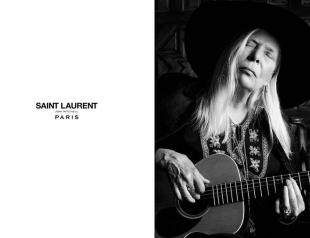 Как женщины в возрасте рекламируют Saint Laurent, Celiné и Alexis Bittar