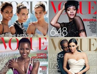 Кто чаще попадал на обложки Vogue в 2014 году и почему об этом сейчас говорят