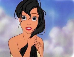 Как бы выглядели волосы диснеевских принцесс в реальной жизни