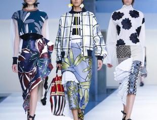 Неделя высокой моды в Милане: Marni, весна 2015