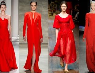 Красное платье на День Святого Валентина: 15 вариантов наряда