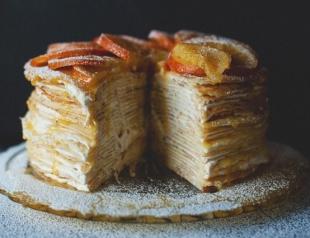 Масленица: блинный пирог вместо блинов