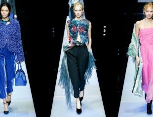 Неделя моды в Милане: Giorgio Armani осень-зима 2015/16