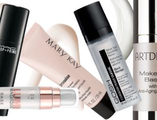 Лучшие основы под макияж весны 2015: что выбрать