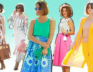 Как научиться сочетать яркие цвета в одежде: советует стилист Elena Galant