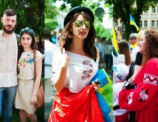 Street style: как киевляне носят вышиванки