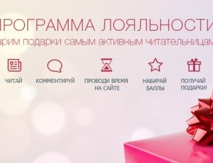 Итоги программы лояльности на ХОЧУ.ua