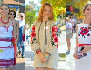 День Независимости 2015: как прошел парад вышиванок в Киеве