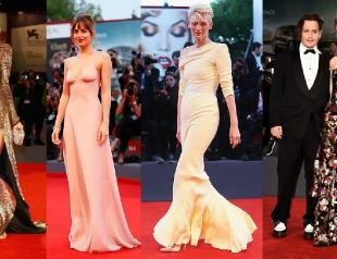 Венецианский кинофестиваль 2015: самые яркие звезды на красной дорожке