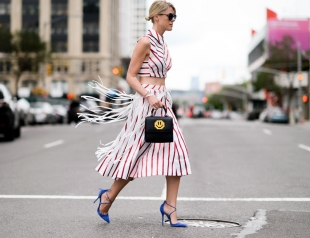 Муза в гостях: лучшие streetstyle образы New York Fashion Week сезона весна-лето 2016