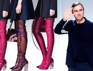 Раф Симонс покидает Dior: лучшие вещи дизайнера