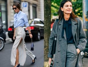 Блуза с бантом: более 30 стильных образов