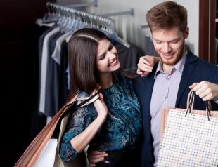 Совместный шопинг: как уговорить мужчину