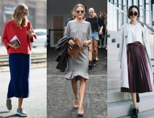 Street style: модные юбки 2015/16 (+50 фото)