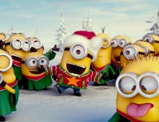 Очаровательная рождественская песня от миньонов!