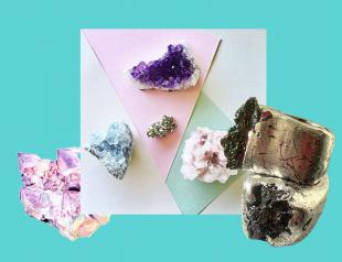 Что подарить на Новый год: аксессуары из необработанных камней SPARKLING NATION