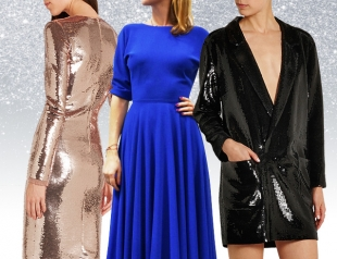 Лучшие новогодние платья 2016