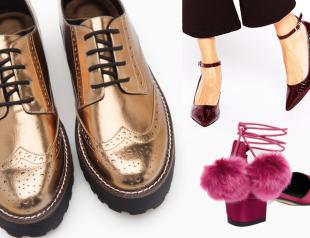 Образ на Новый год: вечерняя обувь на низком каблуке (+30 пар обуви)