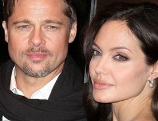 Брэд Питт устроил Анджелине Джоли праздник на день рождения