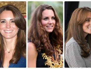 Эволюция причесок Кейт Миддлтон: как менялись волосы принцессы