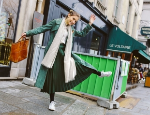 Street style: Неделя мужской моды в Париже