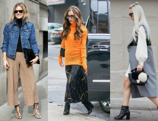 Street style: как носить ботильоны