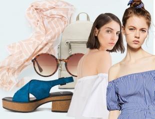 С чем носить платья и топы с открытыми плечами: 3 простых образа