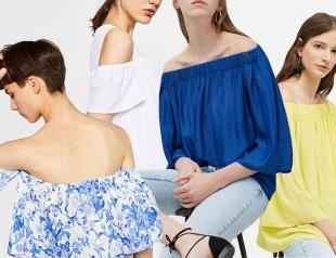 Белые ночи: 18 стильных вещей с открытыми плечами