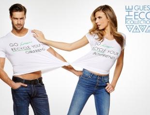 Зеленая революция: Guess выпустил коллекцию «зеленых» джинсов