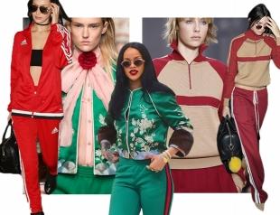 Тенденция: как Рианна, Кендалл Дженнер, Белла Хадид и Селена Гомес носят спортивный костюм