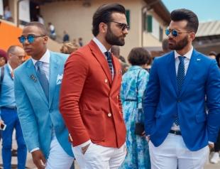 Street style Pitti Uomo 90: красавцы на главной европейской выставке мужской моды во Флоренции