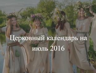 Церковные праздники в июле 2016 в Украине: как отдыхают украинцы