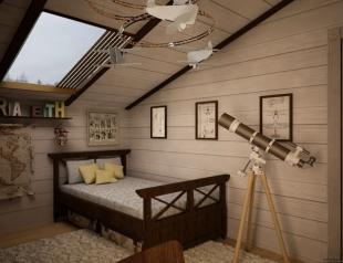 Как оформить детскую комнату в стиле кантри (материалы, цветовая гамма, мебель)