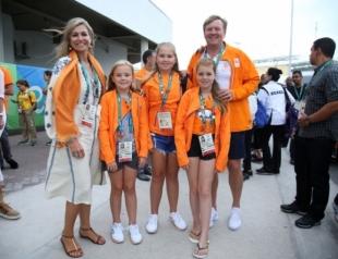 Королева Нидерландов посетила Олимпийские игры 2016 в вышиванке украинского дизайнера