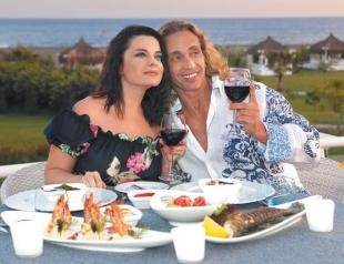 Наташа Королева и Тарзан ярко отпраздновали 13-ю годовщину свадьбы